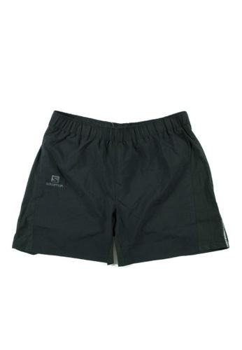35dac0e4f7 Salomon Agile 7 Shorts Black