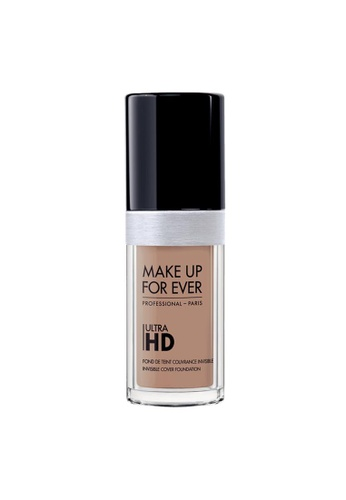 MAKE UP FOR EVER beige ULTRA HD FOUNDATION - Fluid Foundation 30ML R370 ADB81BE416FD25GS_1