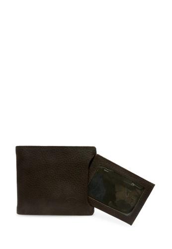 Santa Barbara Polo & Racquet Club brown Santa Barbara Polo & Racquet Club Leather Bifold Wallet with Additional Card Holders AC1B9AC7806EDDGS_1