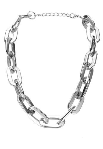 Red's Revenge silver Mondo Cable Chain Necklace 922FAAC8579995GS_1