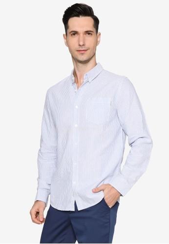 High Cultured blue Long Sleeve Shirt - 254 82A13AAEAA982AGS_1