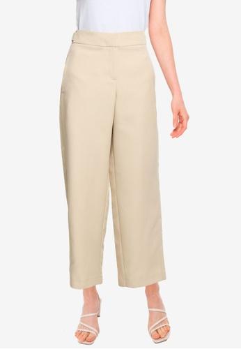 Dorothy Perkins beige Beige Utility Trousers 657D0AA1C7D658GS_1