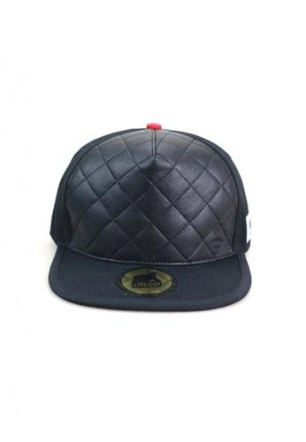 Splice Cufflinks Orso Limited Edition Leather Crown Black Cotton Cap SP744AC01GFESG_1