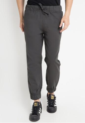Malibu grey Jogger woven long pants MA962AA0WE5QID_1