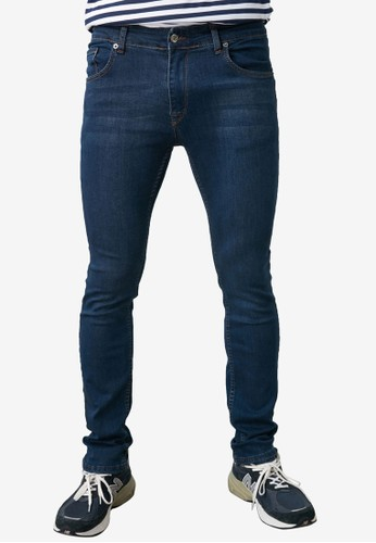 Trendyol blue Indigo Wash Skinny Jeans BFEA9AA9B1C7C6GS_1