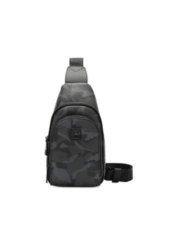 Playboy grey Logo Crossbody Bag FE3FFACD4C43A0GS_1