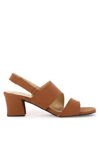 Totally multi and brown Chunky Heels Elvi 3 2A6B1SH095B92EGS_1