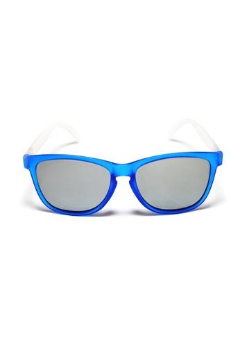 2i's to eyes blue and silver 2i's Sunglasses - Austin 2I983AC22TWVHK_1
