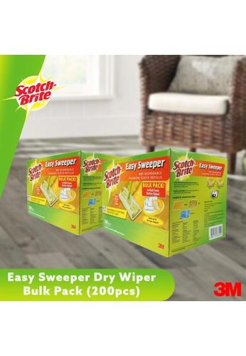 Scotch-Brite 3M Scotch Brite Easy Sweeper Dry Wiper Bulk Pack (200 sheets) [Bundle of 2] D3359ES29DBC7BGS_1