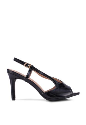 Carlton London black Sling Back Heels AC836SH04C9D43GS_1