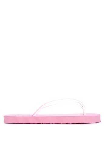 BENCH pink Printed Rubber Slippers 271E6SH9D132E1GS_1