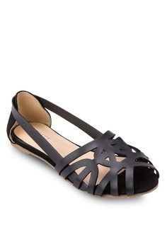 Eveline Cut-Out Flats