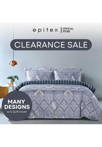 Epitex Epitex Silkysoft 900TC Fitted Sheet [Random Design]. E8D6DHL1283734GS_1