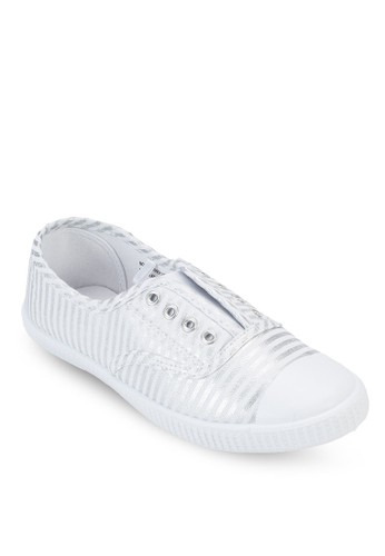 Pacific 條紋休閒鞋、 女鞋、 印花時代RubiPacific條紋休閒鞋最新折價