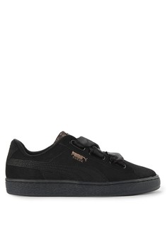 7aaa8762ca6f PUMA black Suede Heart Artica Wn S Shoes 71A96SHF489995GS 1