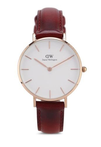 602d6fa17600 Daniel Wellington gold Petite 32 Suffolk RG White Rose Gold 32mm Watch  86937AC6849D3FGS 1