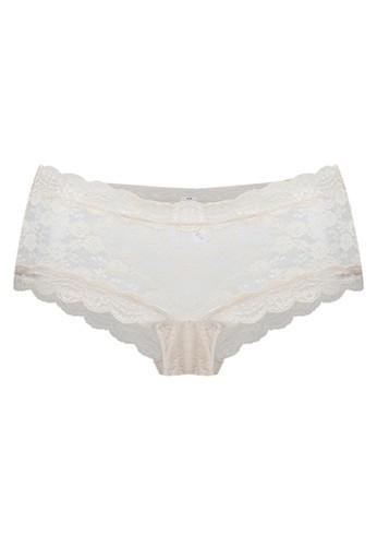 Valentine Secret white Romantic Hotpant VA590US09HSCID_1