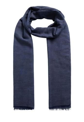 MANGO Man blue Essential Scarf 1ADC5AC2AA720AGS_1
