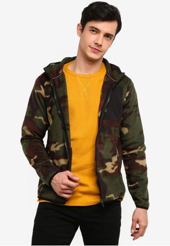 OVS green Fleece Jacket B0D9DAAF3646A0GS_1