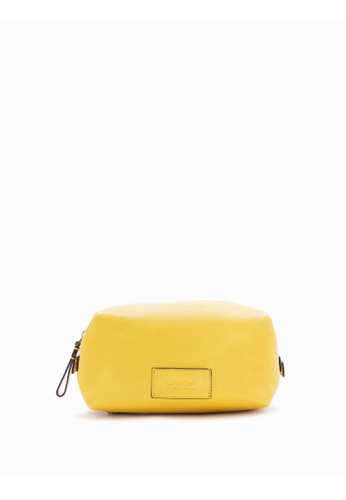 Calvin Klein yellow Medium Dopp Kit D306FAC5DE1E7EGS_1