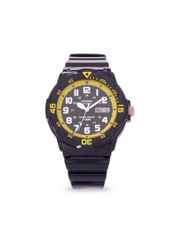 Casio black CASIO GENERAL MRW-200HC-2BVDF UNISEX'S WATCH 6C62FACA0E6127GS_1