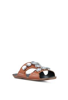 4db686d05eb2 60% OFF TOPSHOP Gem Sandals RM 272.65 NOW RM 108.90 Sizes 37 38