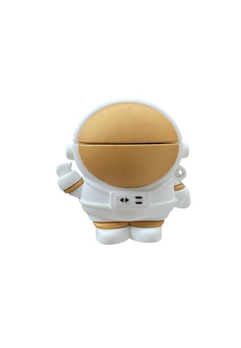 Kings Collection gold Gold Astronaut AirPods Pro Case (KCAC2191P) 9A27DAC470A090GS_1