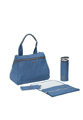 LASSIG Lassig Glam Rosie Backpack Diaper Bag(Blue) AF76BKCE5D17E7GS_1