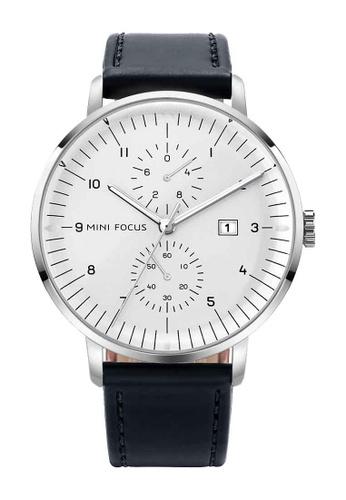Mini Focus black and white Mini Focus Classic Business Men Quartz Watch 5797FAC1B2062AGS_1