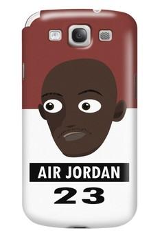Air Jordan Matte Hard Case for Samsung Galaxy S3
