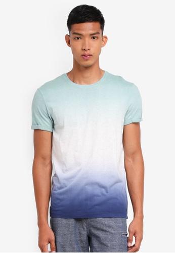 ESPRIT green Tie Dye Short Sleeve T-Shirt 9D5B1AA9985BEBGS_1