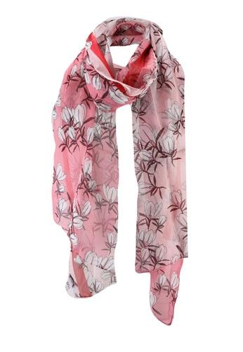 Furla pink Like Stola Scarf (zt) 8AB45AC1BF9F58GS_1