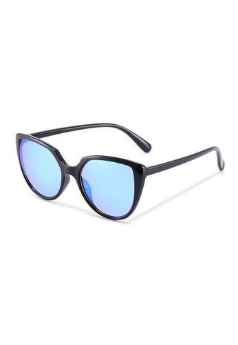 Quattrocento Eyewear Quattrocento Eyewear Italian Sunglasses with Blue Lenses Model Marchetti 369F7GLBC17D75GS_1