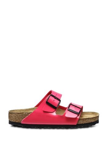 Birkenstock pink Arizona Patent Sandals 29D23SH8240990GS_1