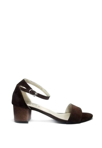 Beauty Shoes brown Beauty Shoes 1225 Heels Brown 3AE6DSHDD39637GS_1