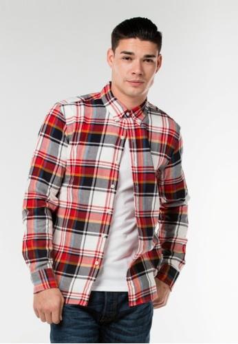 Levi's multi Pacific No Pocket Shirt LE843AA75SWUSG_1