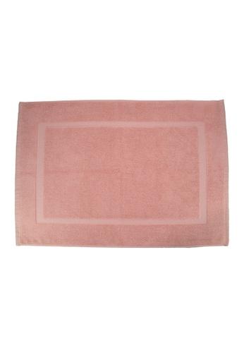 Martex SET OF 2 Martex (USA) RIVAGE 100% Combed Cotton Terry Bath Mat / 50 x 70cm/294g. 1E438HLA08C222GS_1