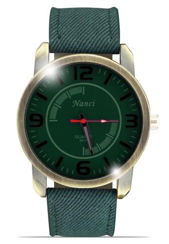 Dooka green Nanci Men's Casual Analog Watch 9930 DO079AC44LRBPH_1