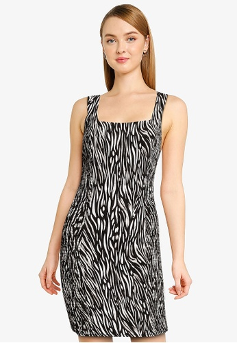Desigual black Salt Lake City Dress E4524AAD2D9FEDGS_1
