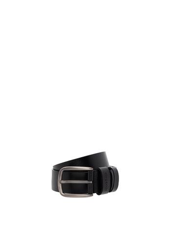SEMBONIA black SEMBONIA Men Genuine Leather Belt (Black) BA52AAC7682302GS_1