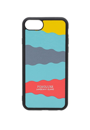 POROLUXE blue PHONE CASE FOR IPHONE 6/7/8 517E5AC898F923GS_1