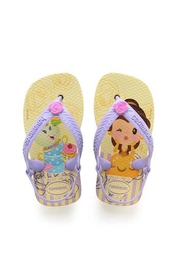 new collection new product good texture Shop Havaianas Baby Disney Princess Flip Flops Online on ZALORA ...
