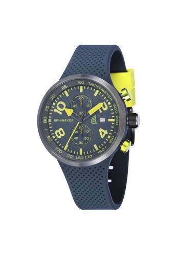 Spinnaker grey DYNAMIC Rubber Strap Watch SP641AC24LNRPH_1