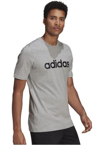 ADIDAS grey adidas essentials t-shirt 6ADF1AA46D136FGS_1