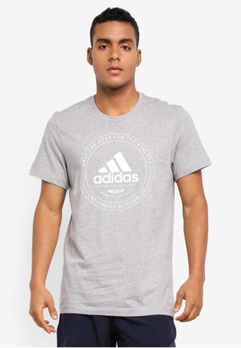 adidas grey adidas adi emblem tee AD372AA0SUMFMY_1