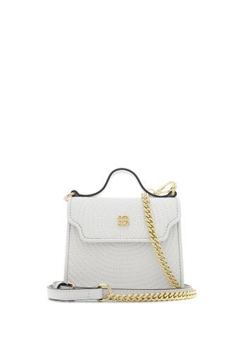 BONIA white White Meghan Satchel Bag XS 43231AC084759FGS_1