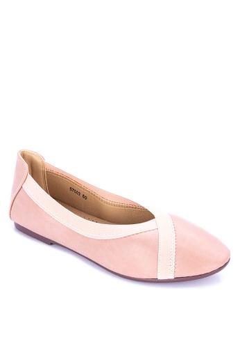 BANDOLINO pink Brylle Flats 626CDSH3CA6E7CGS_1