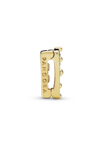 Pandora gold Crown Clip Charm 00DA7AC75623FFGS_1
