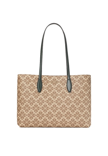 Kate Spade multi and beige Kate Spade Spade Flower Coated Canvas All Day Large Tote pxr00360 8530BAC1652CA3GS_1