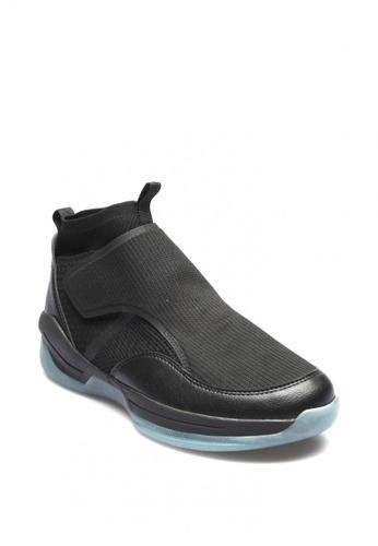 World Balance black Ground Zone Men's Performance Shoes 01F27SH56CD694GS_1